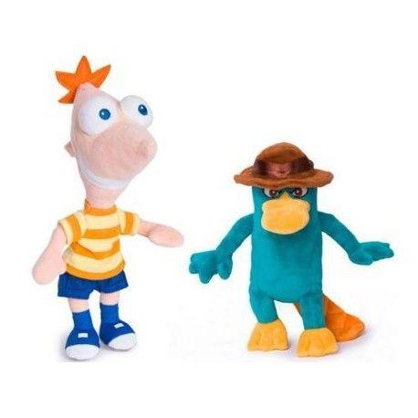 Peluche Phineas y Perri