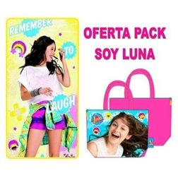 Soy Luna Pack Toalla + Bolso
