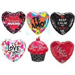 Globos con Mensajes de Amor