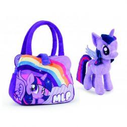 Mi pequeño Pony: Peluche + Bolsito Lila