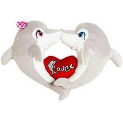 Pareja Delfines Enamorados 50 cm.